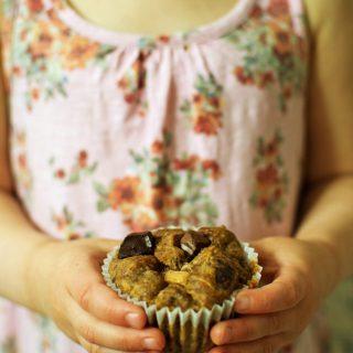 Muffinki z dynią i czekoladą