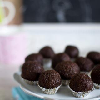 trufle czekoladowo- migdałowe
