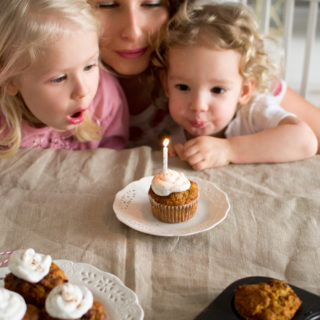Zdrowe muffinki marchewkowe na pierwsze urodziny bloga