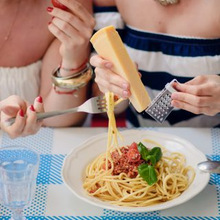 Moje spaghetti bolognese