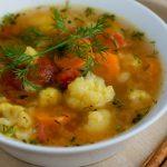 Rozgrzewająca zupa z kalafiora