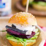 Mini burgery ze śledziem