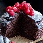 Ciasto czekoladowe z mąki migdałowej i gryczanej