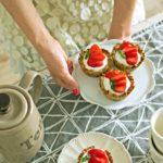 Babeczki owsiane z truskawkami