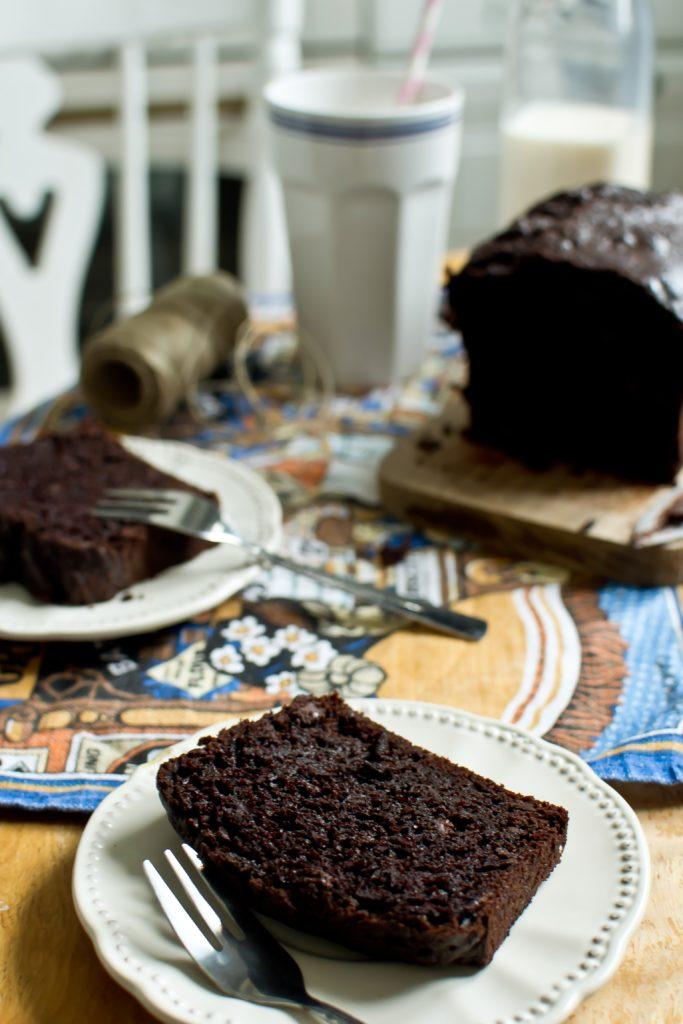 czekoladowe ciasto z cukinii