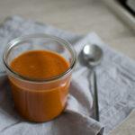 Krem z pomidorów i soczewicy