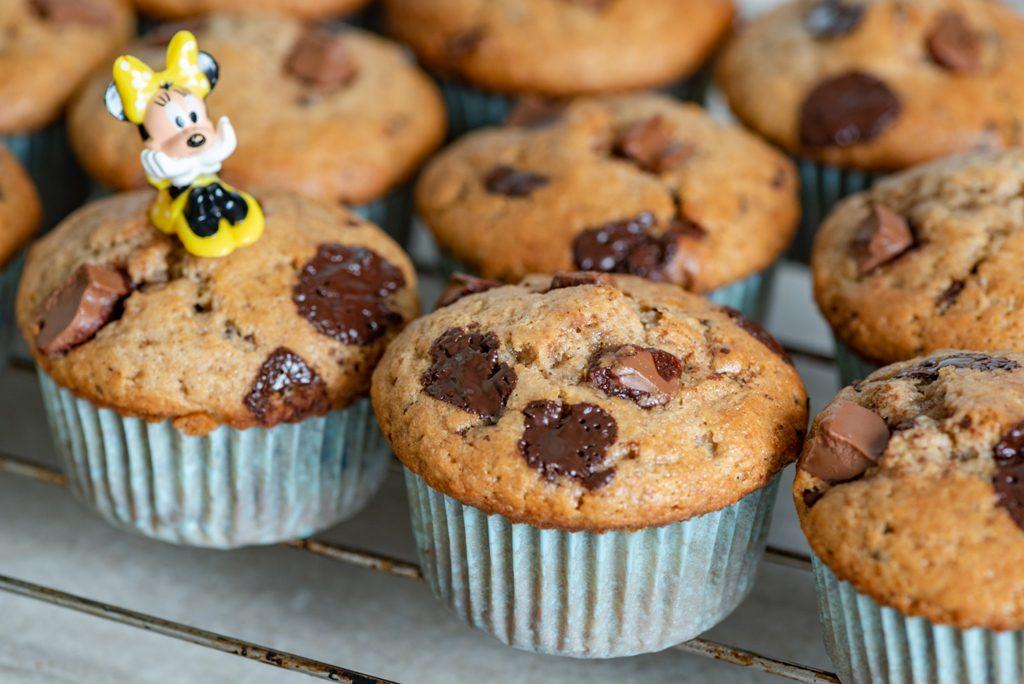 Muffinki z kawałkami czekolady - Słodkie życie