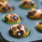 Mini muffinki na maśle orzechowym