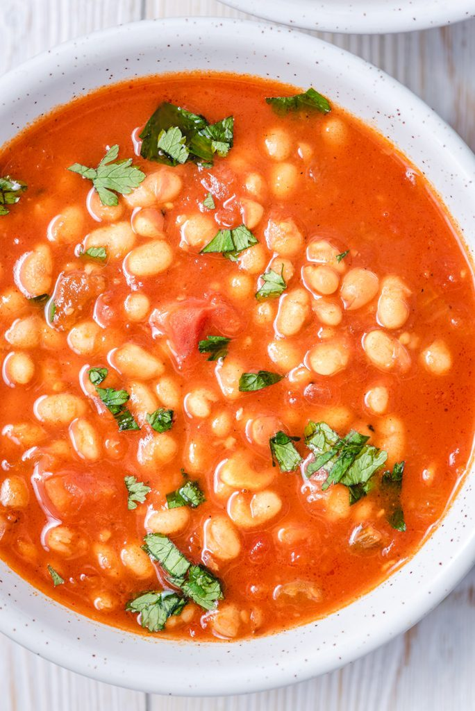 zupa z pomidorami i fasolą